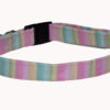 Stripes Pastel (Cotton) Dog and Cat Collar
