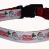 Merry Christmas Dog Collar