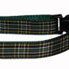 Plaid Irish National Dog Collar