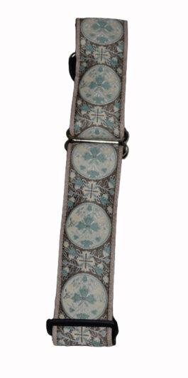 Medallion Turquoise Tan