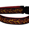 Flames Dog and Cat Collars