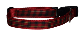 Plaid Red Gold