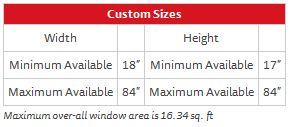 Project Series 238 – Custom Sizes