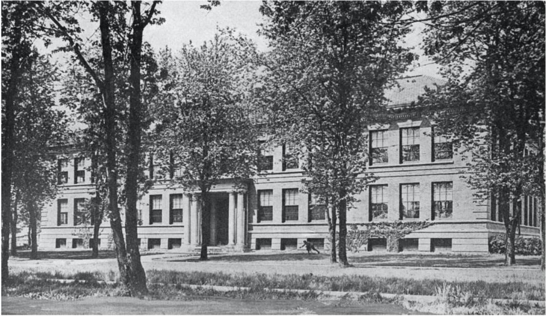 Foster school Evanston c. 1910