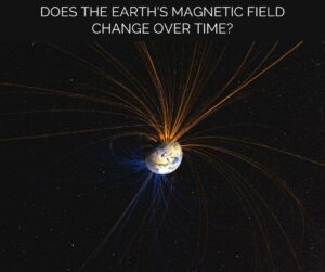 Does the earth's magnetic field change over time?