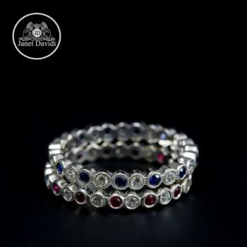 Art Deco Style Wedding Ring