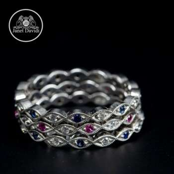 Edwardian Style Eternity Ring
