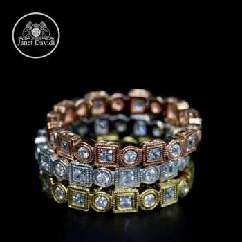 Antique Inspired Stackable Ring