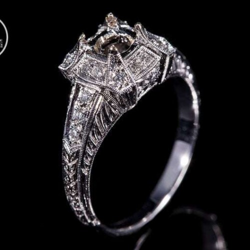 Antique Inspired Ring