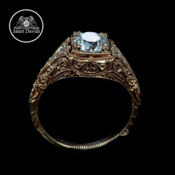 18 K Rose Gold Diamond