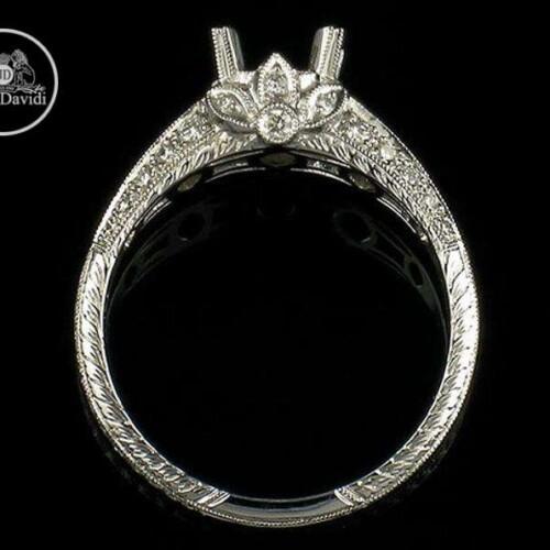 Natural Diamond Engagement Ring