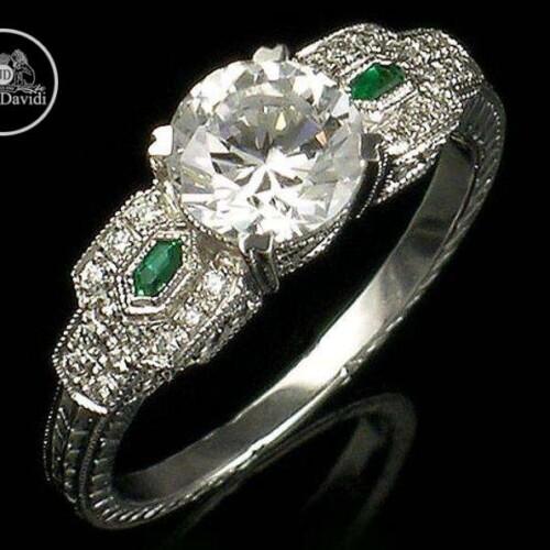 14KW Genuine Emerald