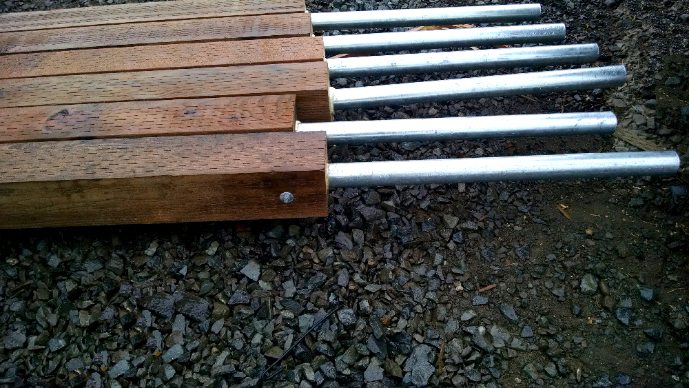 Wood fences ready to be installed in Sammamish, WA
