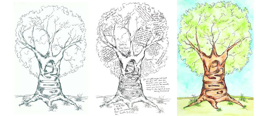 """The Wisdom Tree"" Print"