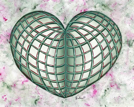 """""""Rooms In My Heart"""" Print"""