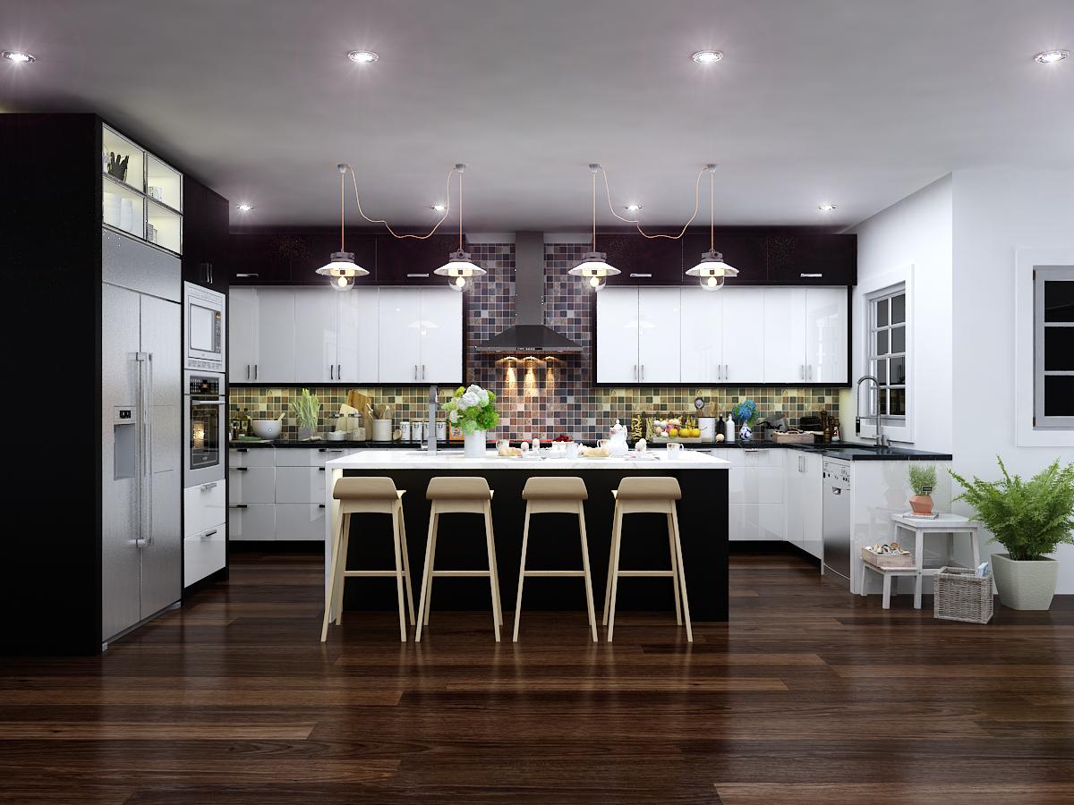 kitchen Concept, Reiner Rd Home