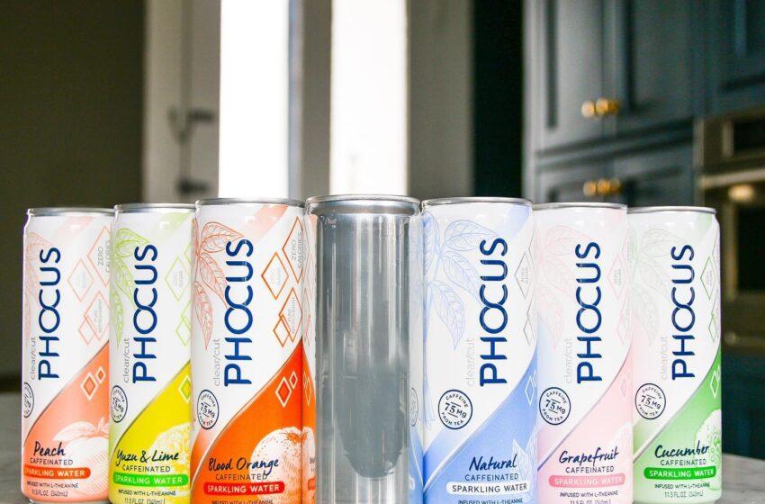 Phocus, Caffeinated Sparkling Water