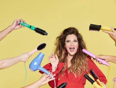 Drew Barrymore Launches New Exclusive Line Of Hair Tools