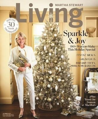 martha stewart living december issue