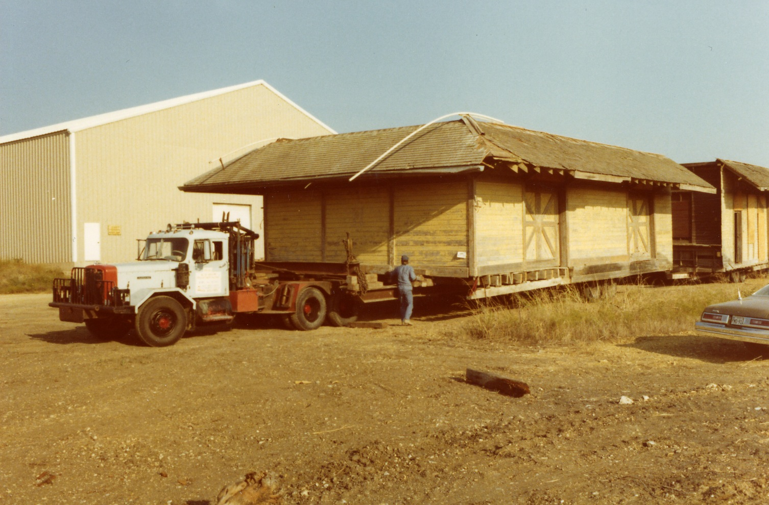 RR Depot 1 st move from Kossie, TX #4