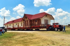 Train Depot in Itasca, Texas 2nd move #2