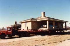 Slab House with car #1