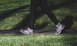 Person power walking to cut risk of dementia