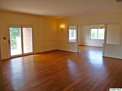 BEFORE: Charlottesville Modern Great Room