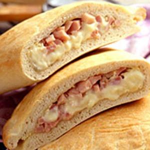 Ham Calzone