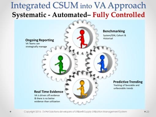 Integrated CSUM Into VA Approach