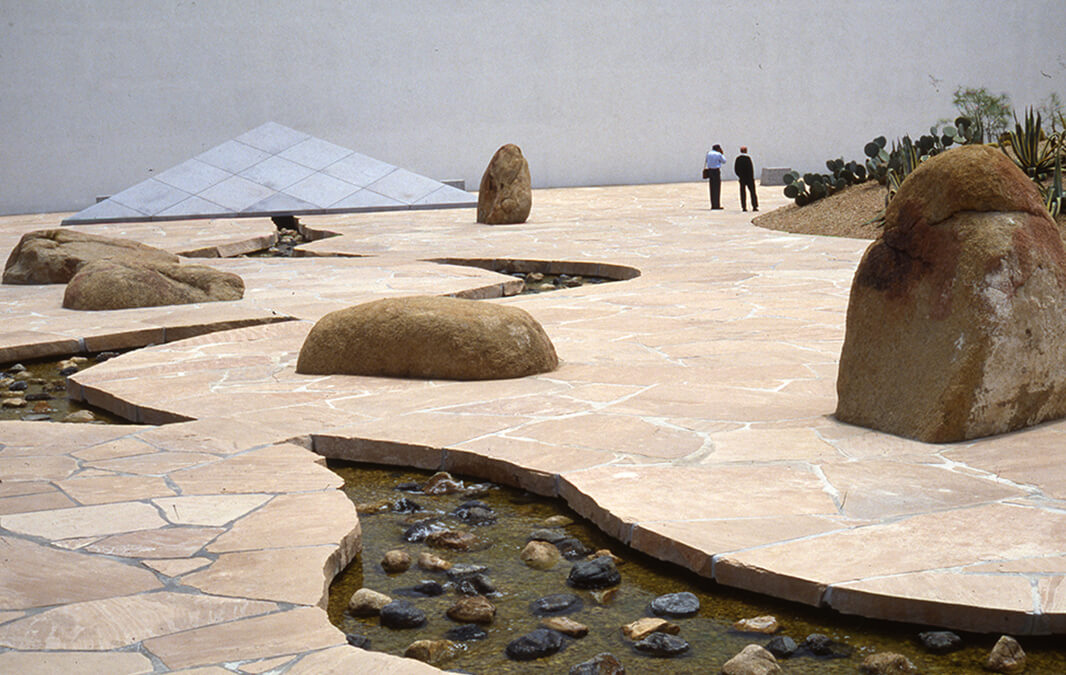 noguchi garden in south coast plaza