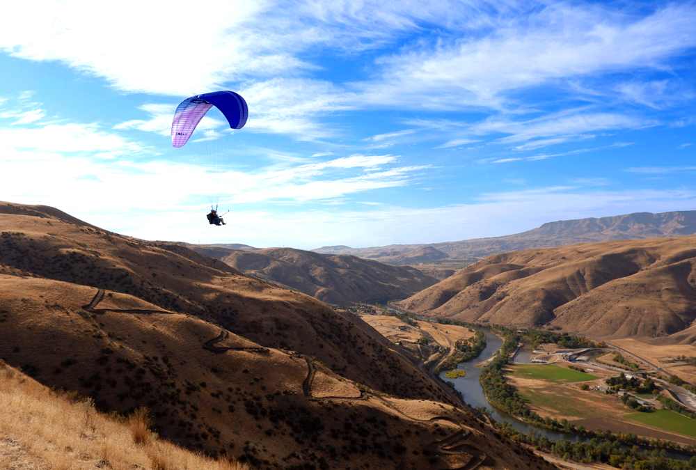 The Most Fun Thing To Do To In Boise Idaho This Weekend Is Go Tandem Paragliding.