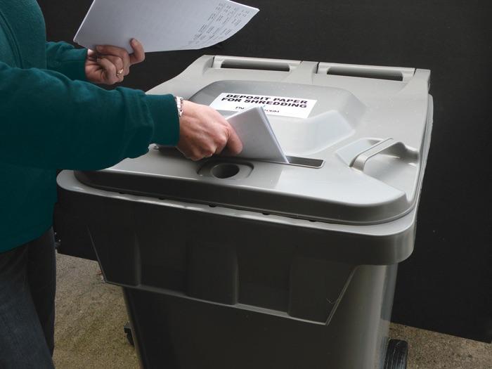 Deposit Paper For Shreadding