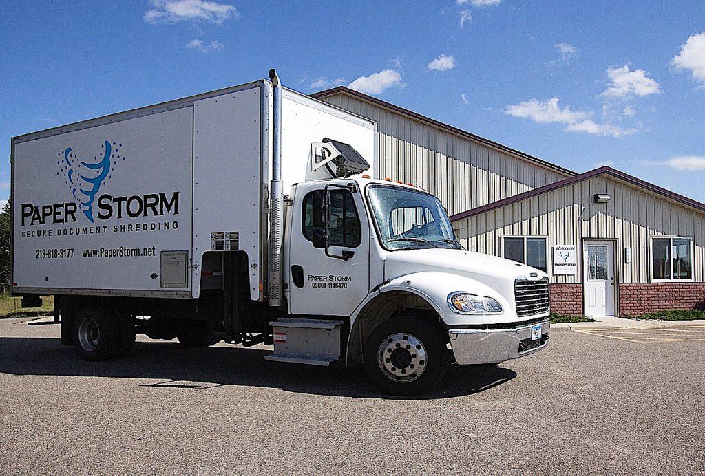 Paper Storm Truck