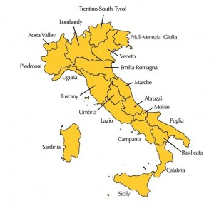 Italy Regions 461x456