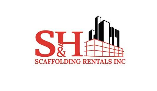S&H Scaffolding Rentals – Logo