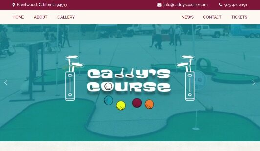 Caddy's Course