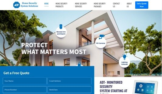Home Security System Solutions