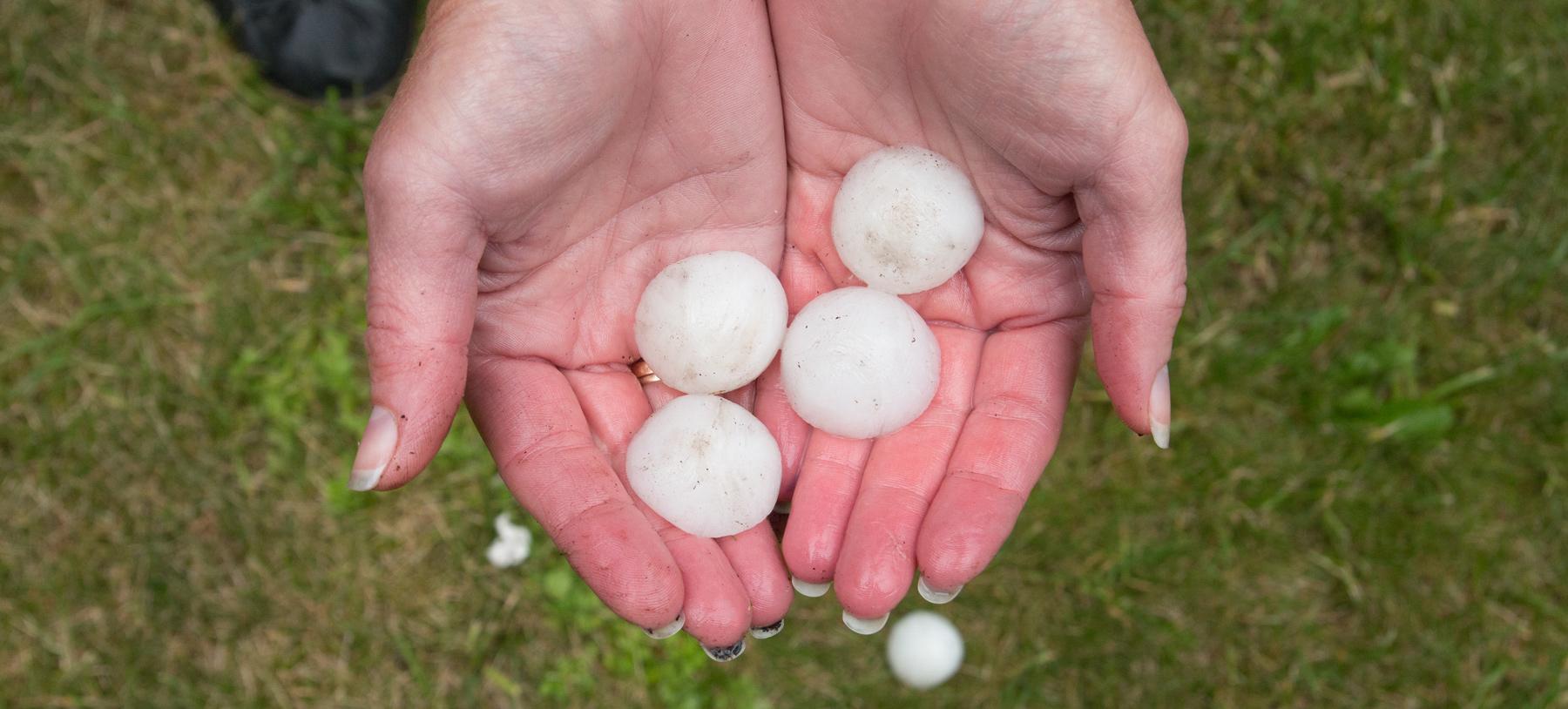 hail damage roof repair