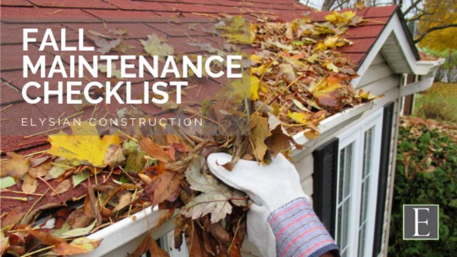 homeowner tips fall maintenance
