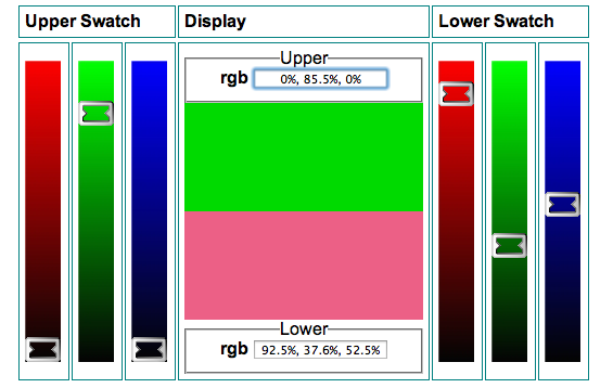 From Source: http://linaker-wall.net/Colour/Dynamic_Fmt/Swatch_rgb_percent.htm