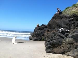 Marleigh at the beach