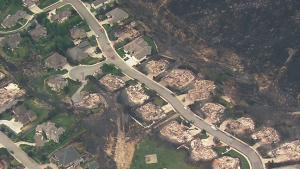 Wenatchee fire damage