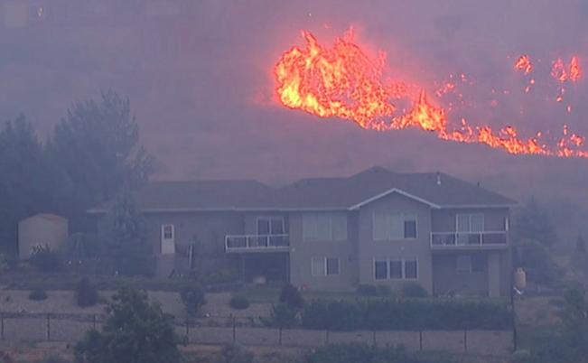 Wenatchee fire