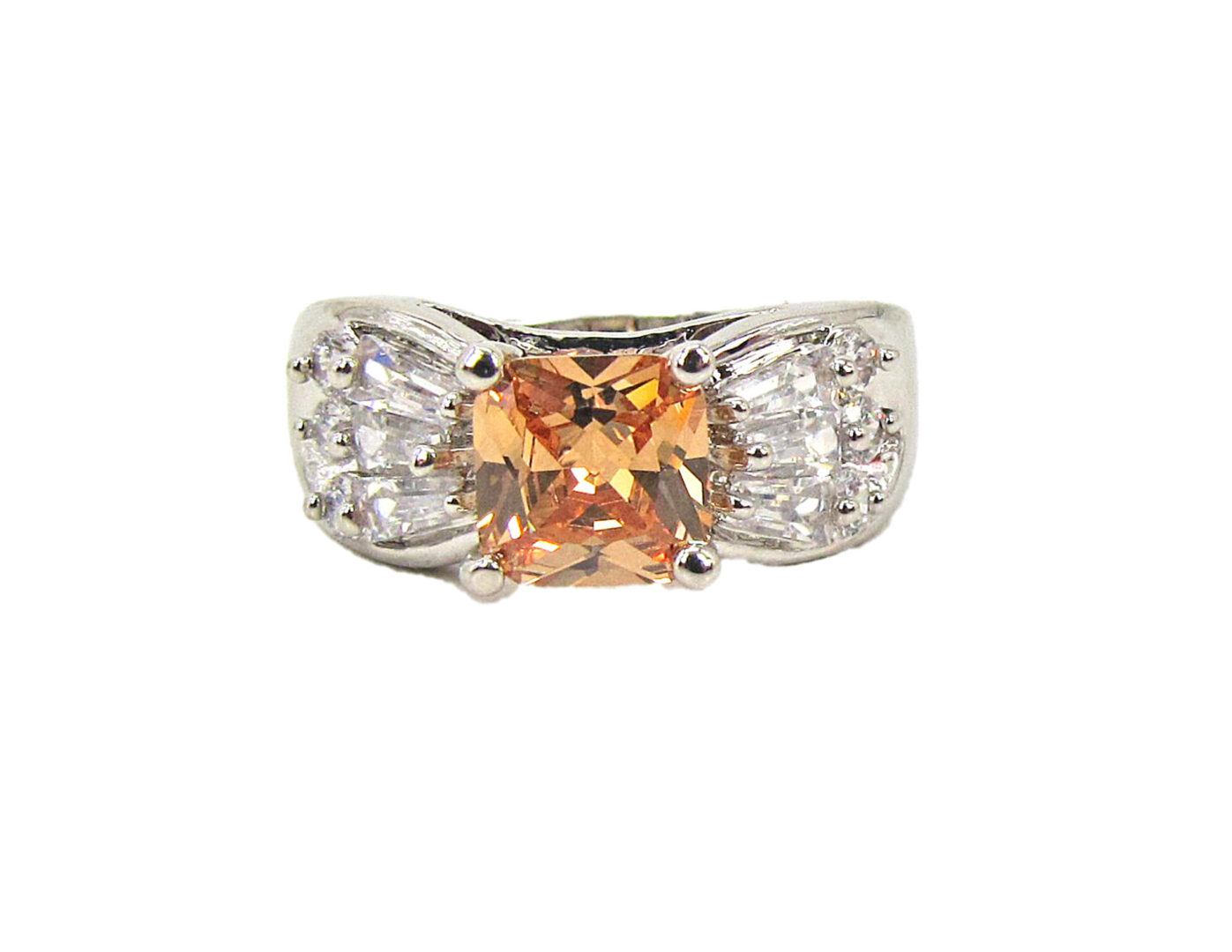 Cubic Zirconia stone ring
