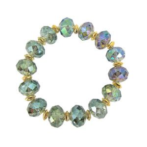bracelet with colorful beads