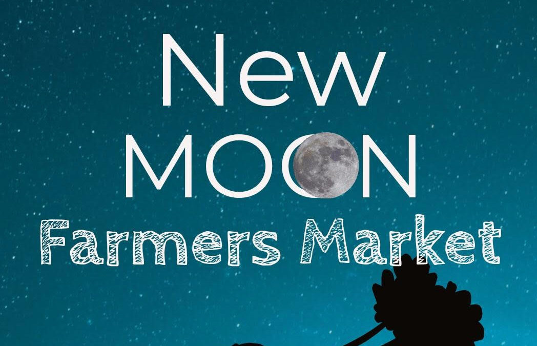 Coming Soon Nov. 14th –  New Moon Farmer's Market!