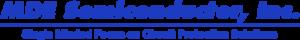 MDE logo: manufacturer of transient voltage suppressor diode