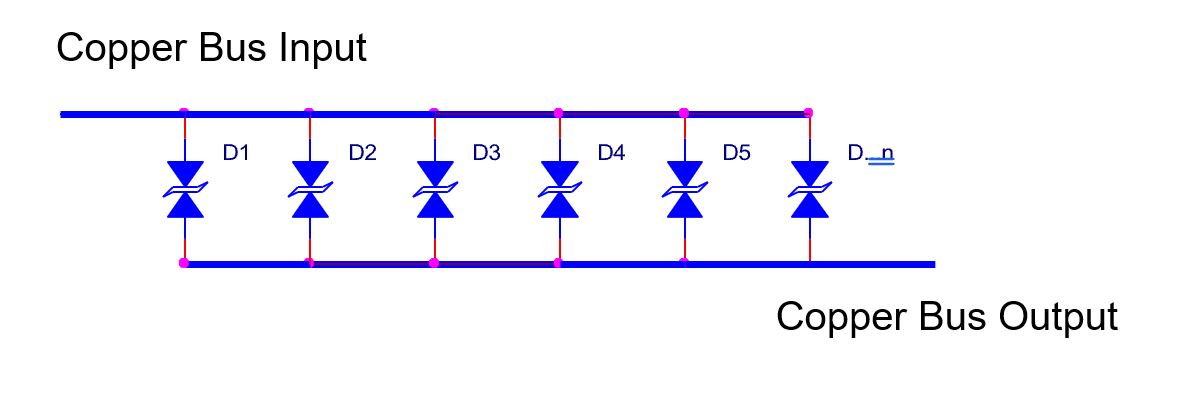 image of tvs diodes in parallel