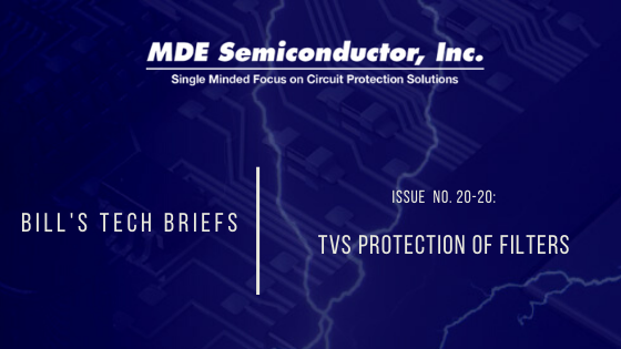 TVS Protection of Filters